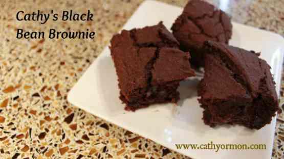 Cathy's Black Bean Brownie