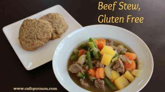 Delicious Beef Stew, Gluten Free