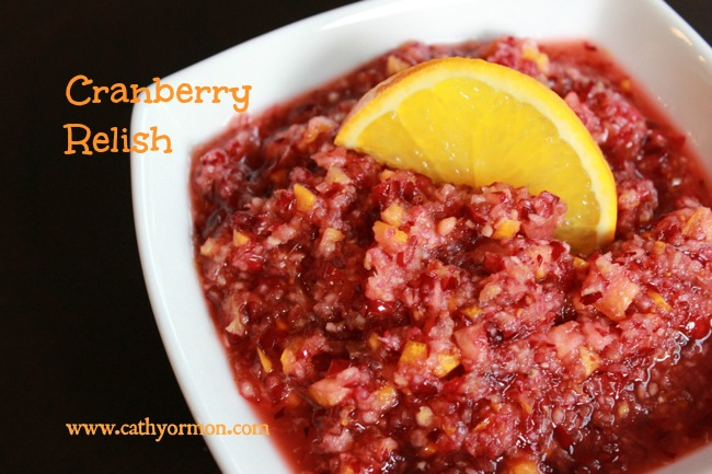 Whole Foods Cranberry Relish