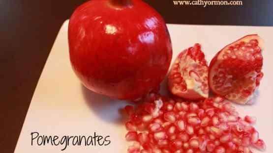 Pomegranates - Incredible Antioxidant Power!