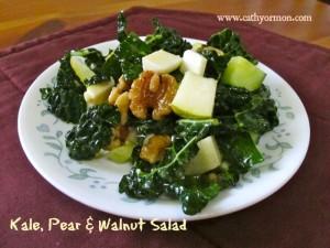 Kale salad full of antioxidants