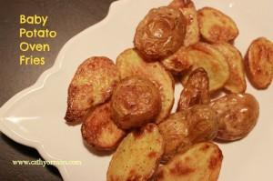 Healthy Recipe - Baked Potato Fries