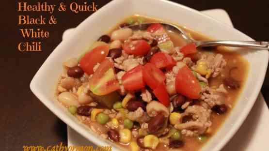 Healthy Recipe: Quick Black & White Chili