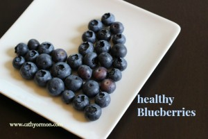 healthy fruit - blueberry