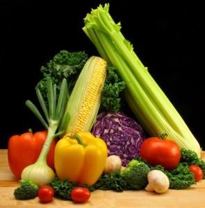 rainbow of vegetables - gluten free