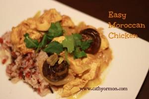 Easy Moroccan Chicken