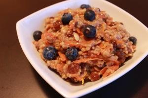 Rise and Shine Oatmeal Breakfast