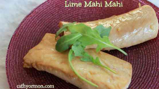 Fish Recipe - Lime Mahi Mahi