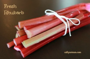 Rhubarb is a Vegetable - True or False?