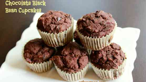 Chocolate Black Bean Cupcakes