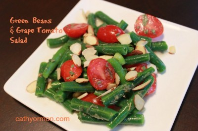 Green Beans and Grape Tomato Salad