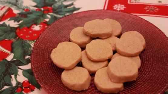 Guilt Free Christmas Shortbread