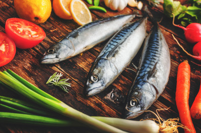 Cold water fish, source of Omega 3 Fatty Acids