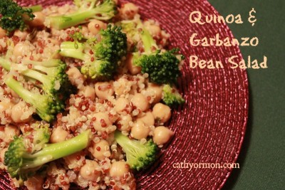 Quinoa and Garbanzo Bean Salad