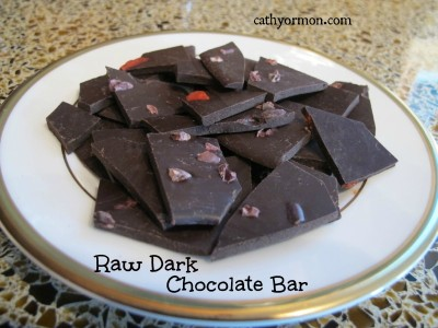 Making a Raw Cacao Chocolate Bar