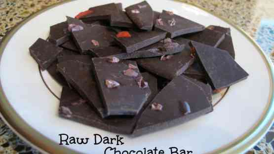 Making a Raw Cacao Chocolate Bar or Chocolates