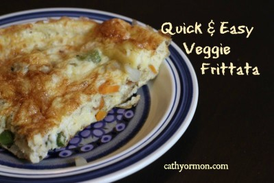 Quick & Easy Veggie Frittata