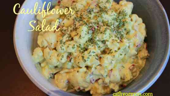 Cauliflower Salad (Potato Salad 'Twin')