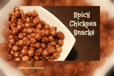 Spicy Chickpeas - An Easy Snack