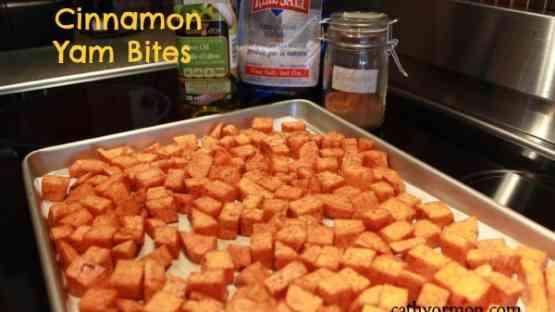 Cinnamon Yam Bites