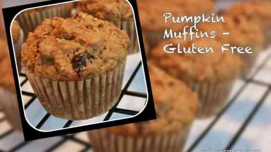 Pumpkin Muffins - Gluten Free