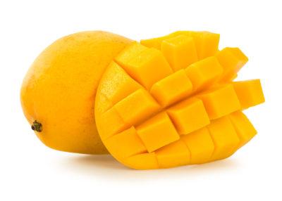 mango fruit - cut into cubes