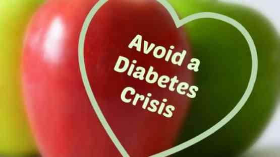 3 Ways to Avoid a Diabetes Crisis