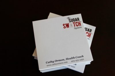 Sugar Switch Sticky Note Pads